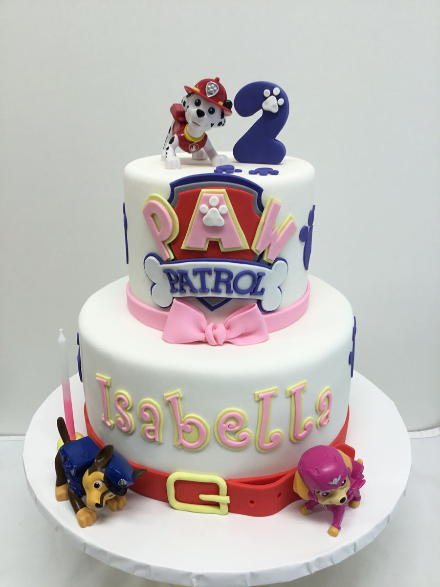 paw patrol cake Yummy Yonie Cakes