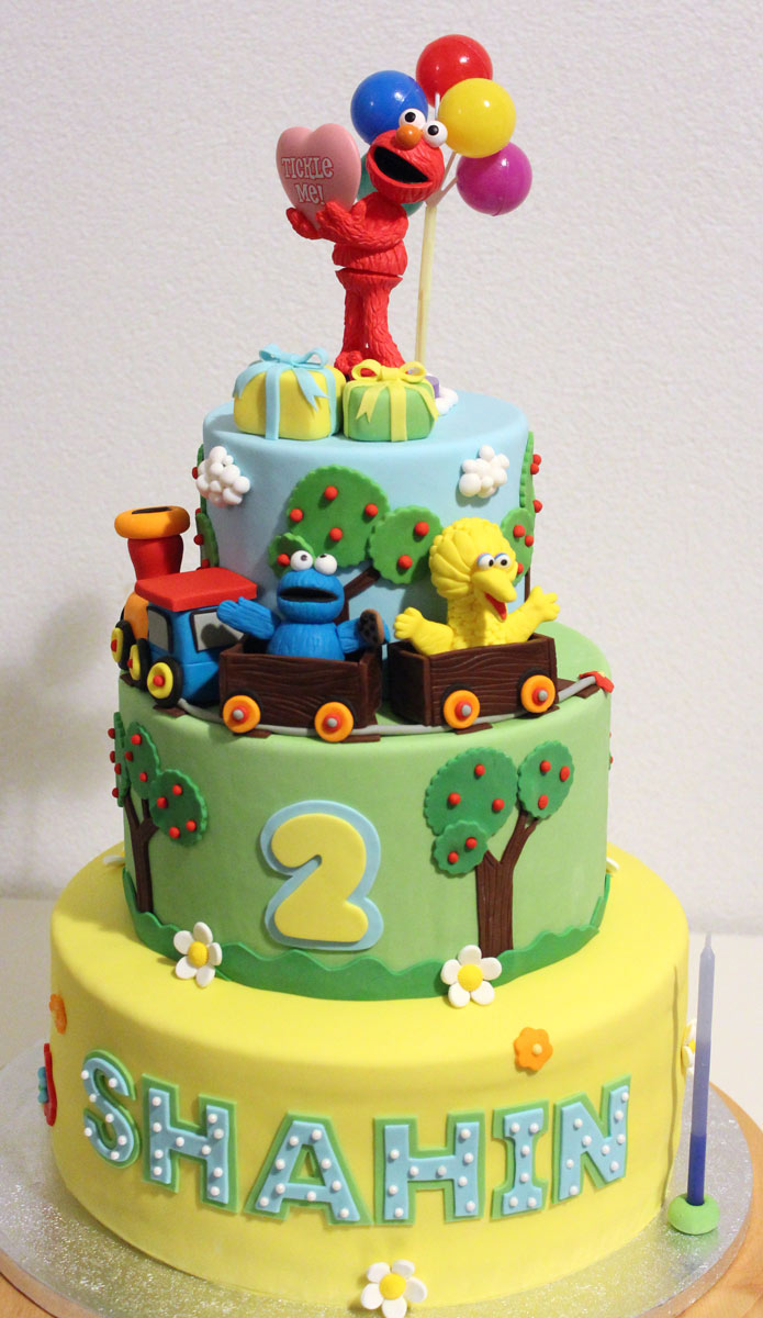 sesame street cake Yummy Yonie Cakes