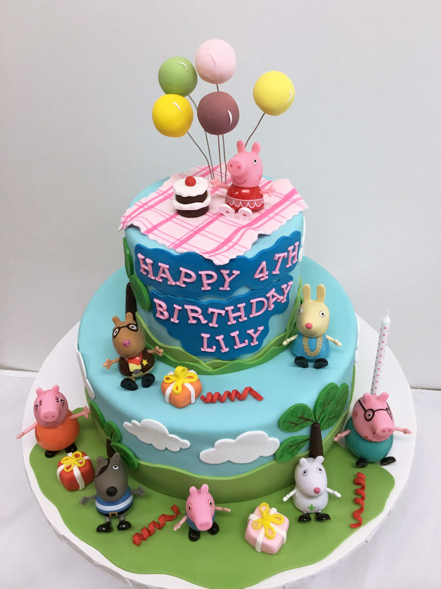 cartoon theme cake Yummy Yonie Cakes