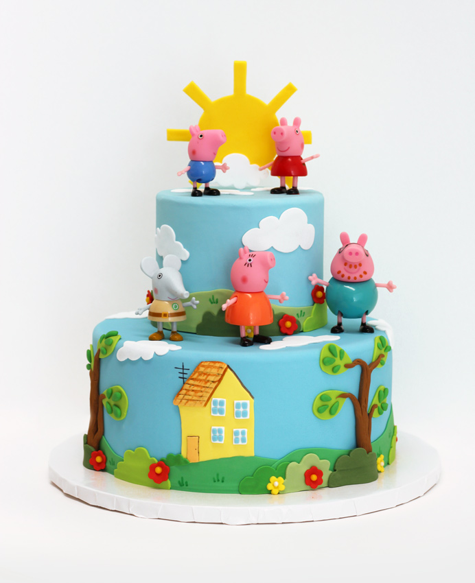 custom kids birthday cakes vancouver - playful, colourful and tastes good