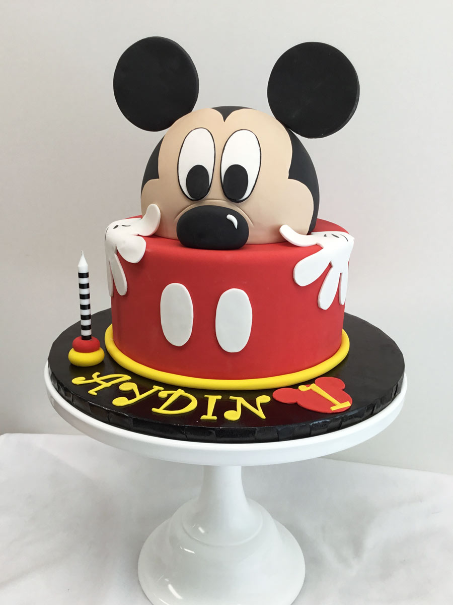 mickey mouse cake Yummy Yonie Cakes