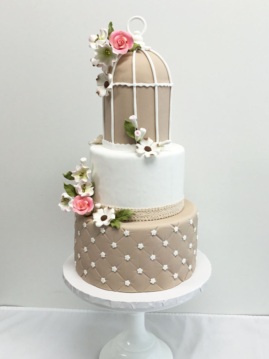 Bridal Shower Cake - Elegant