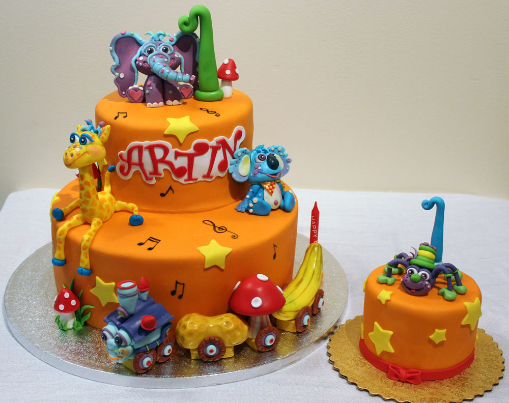 colourful animals and things Yummy Yonie Cakes